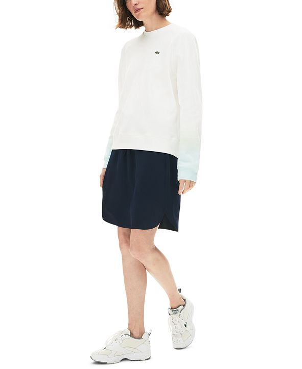 Lacoste Ombre-Sleeve Sweater