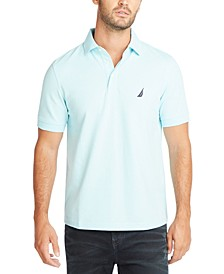Men's Classic-Fit Stretch Pique Polo Shirt