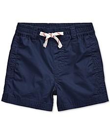 Baby Boys Cotton Twill Shorts