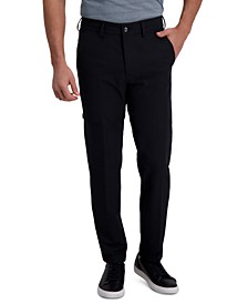 Men's Slim-Fit Stretch Solid Dress Pants