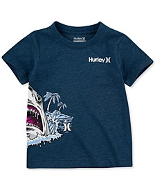 Toddler Boys Shark World Cotton T-Shirt