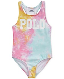 Toddler Girls Tie-Dye One-Piece Swimsuit