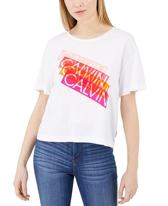 Calvin Klein Jeans Multicolor Logo T-Shirt
