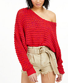 Free People Coconut V Sweater