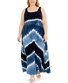 INC Petite Tie-Dyed Maxi Dress, Created for Macy's