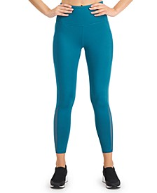 Mesh-Trimmed Leggings, Created for Macy's