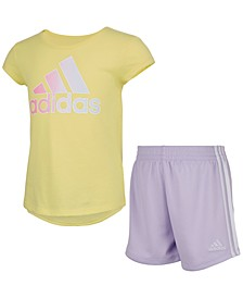 Toddler Girls Tee and Short Set