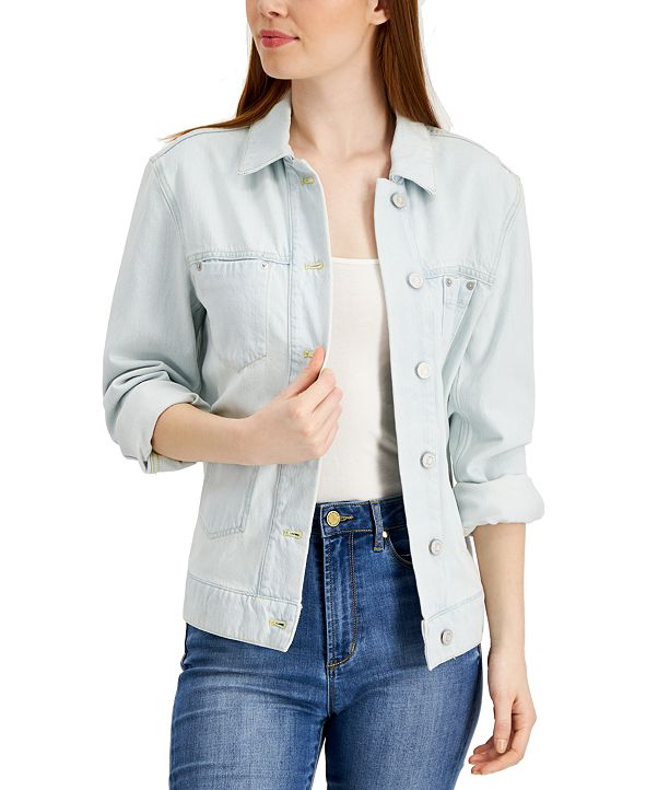 French Connection Theema Cotton Denim Jacket