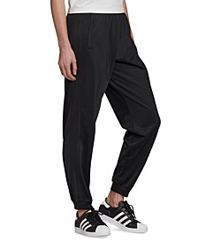 Women's Metallic-Trim Track Pants