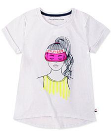 Tommy Hilfiger Big Girls Bestie Graphic T-Shirt