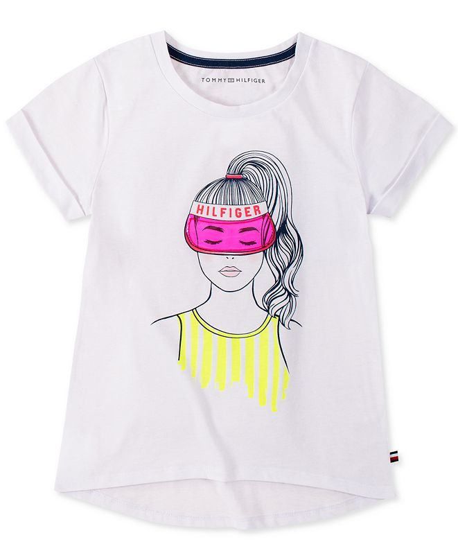 Tommy Hilfiger Big Girls Bestie Graphic T-Shirt