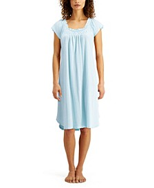 Ribbed Knit Nightgown