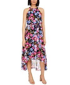 INC Floral Halter Maxi Dress, Created for Macy's