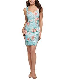 Floral-Print Bodycon Dress