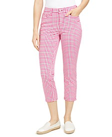 Gingham Capri Pants, Created for Macy's