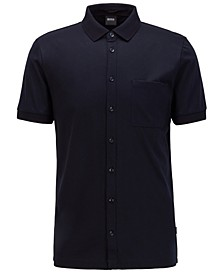 BOSS Men's Puno Shirt-Style Polo Top