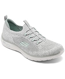 Women's Relaxed Fit: Empire D'Lux - Sharp Witted Athletic Walking Sneakers from Finish Line
