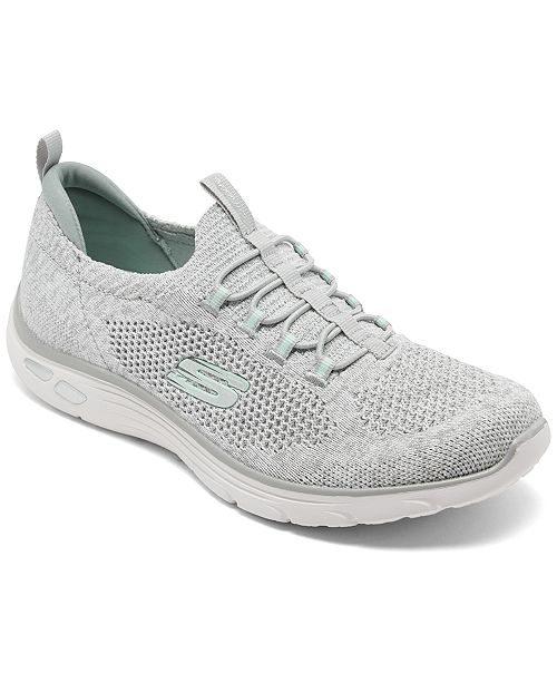 Women's Relaxed Fit: Empire D'Lux Sharp Witted Athletic Walking Sneakers from Finish Line