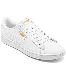 Puma Women's Vikky V2 Leather Casual Sneakers from Finish Line