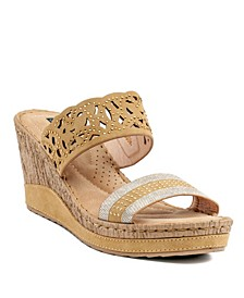 Rhea Wedge Sandal