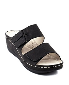 Doreen Wedge Sandal