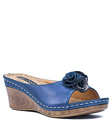 Sydney Wedge Sandal