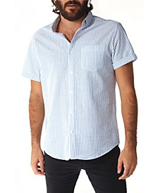 Men's Seersucker Buttondown Shirt