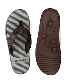 Men's Two-Toned Memory Foam Beach Sandals