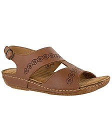Sloane Leather Sandals