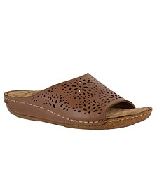 Valerie Leather Sandals
