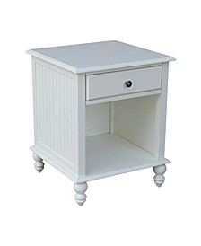Cottage Collection End Table with Drawer