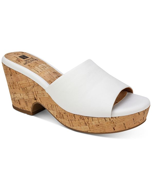 White Mountain Copeland Wedge Sandals