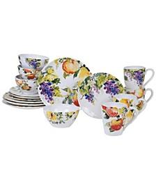 Ambrosia 16-Pc. Dinnerware Set
