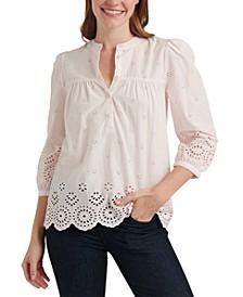 Rebecca Eyelet Shirt