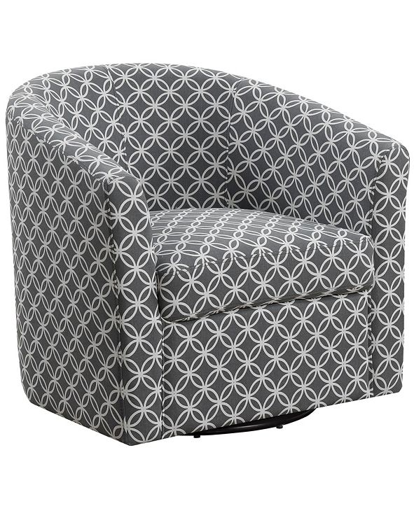 Monarch Specialties Accent Chair - Swivel Circular