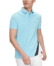 Men's Eric Custom-Fit TH Flex Stretch Logo Polo Shirt