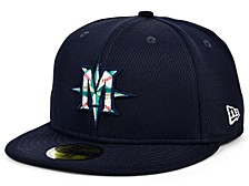 Seattle Mariners 2020 Men's Batting Practice Fitted Cap