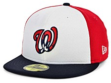 Washington Nationals 2020 Men's Batting Practice Fitted Cap