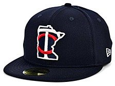 Kids Minnesota Twins 2020 Kids Batting Practice 59FIFTY-FITTED Cap