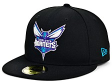 Charlotte Hornets Men's All Around Fitted Cap
