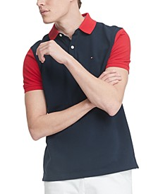 Men's Harley Custom-Fit Colorblocked Polo Shirt
