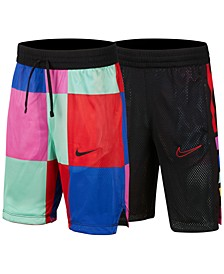Big Boys Elite Reversible Athletic Shorts