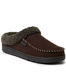 Men's Brendan Microsuede Moc Toe Clog Slippers