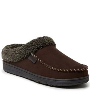 Men's Brendan Microsuede Moc Toe Clog Slippers Men's Shoes