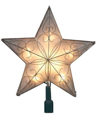Kurt Adler 5-Point Star Christmas Tree Topper - Holiday Lane - For ...