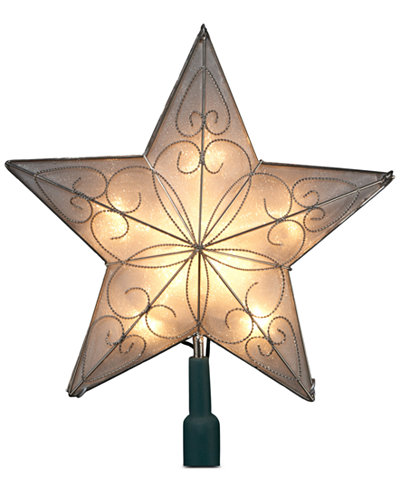 kurt adler 5 point star christmas tree topper - Christmas Tree Topper Star