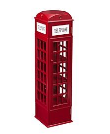 Sheffield Phone Booth Storage Cabinet
