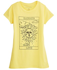 Juniors' Celestial Sun Graphic T-Shirt