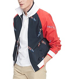 Men's Jackson Colorblocked Logo Jacket