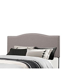 Kiley Full/Queen Upholstered Headboard with Metal Bed Frame